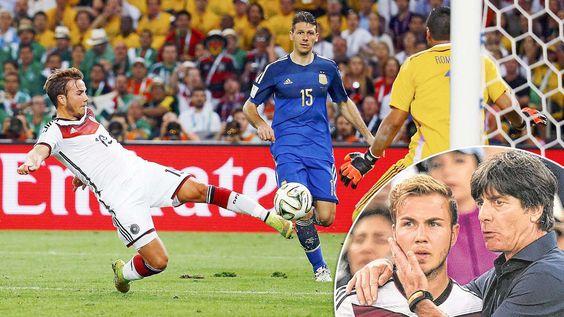 """FINAL-HELD 11 Worte trieben Götze zum Tor der Tore """"Jetzt zeig der ganzen Welt, dass du besser bist als Messi!"""""""