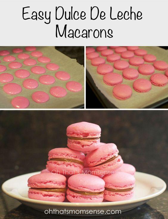 Easy Dulce De Leche Macarons