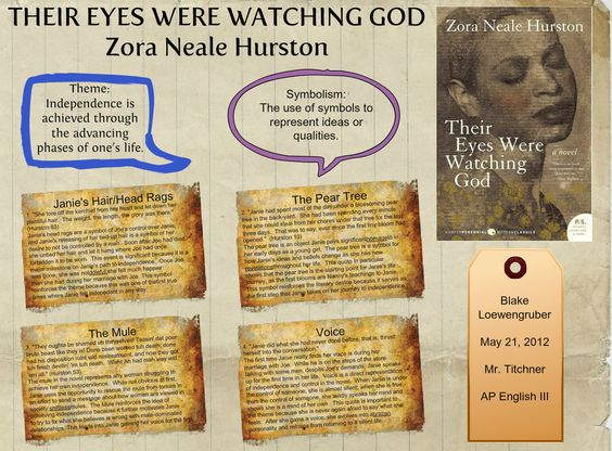 I need help understanding a line from a passage from Their Eyes Were Watching God.?