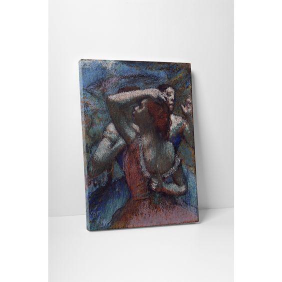 Classic Masters Edgar Degas 'Dancers II' Gallery-wrapped Wall Art