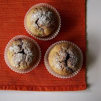 My Diet fad: Rye muffins with strawberries | Donuts & Pastries & More...
