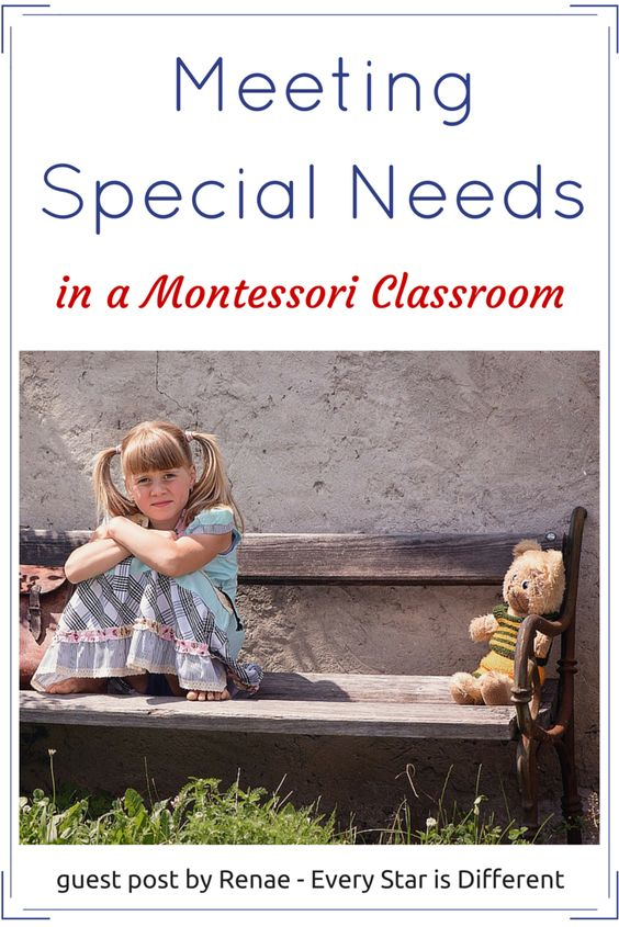 Montessori Nature: Meeting Special Needs in a Montessori Classroom.:
