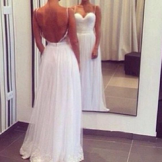 Square back cleavage simple wedding dress wedding for Wedding dress cleavage