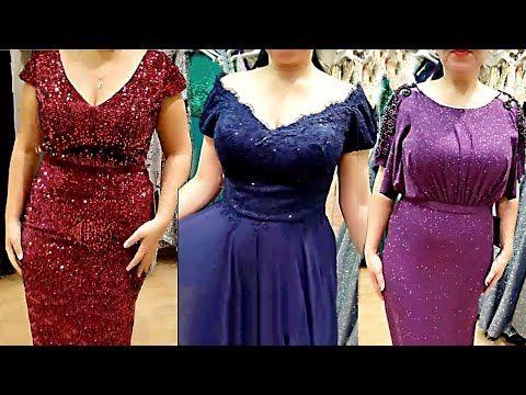 فساتين سهرة للصيف للبدينات في قمة الاناقة والجمال لك سيدتي Youtube Dresses Prom Dresses Formal Dresses