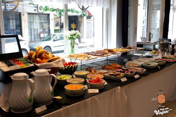 Desayuno americano en Rosario