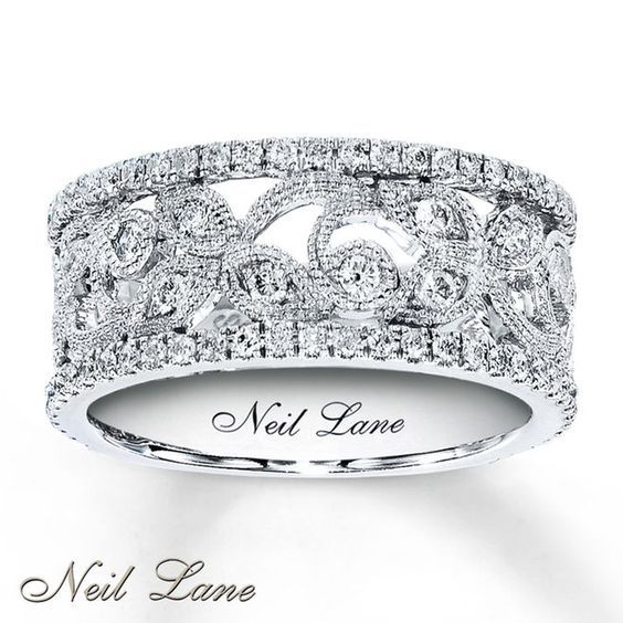 Jewelry Designer Neil Lane Creates Contemporary Designs With A Nod To Classic Styling In Th Neil Lane Engagement Rings Fashion Rings Diamond Anniversary Bands