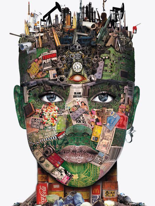 Artslant Face Facts Collage Art Identity Art Art