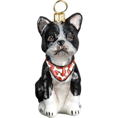 Our collectible Boston Terrier Ornament from Joy to the World was created with the utmost attention to quality and detail. The finest artisans in Poland individually mouth blow and hand paint each ornament, achieving new levels of innovation and artistic integrity in their designs. Using only traditional old world production methods and materials sourced from European countries, they ensure that each ornament is an impressive work of art that will be treasured for generations. Each ornament…