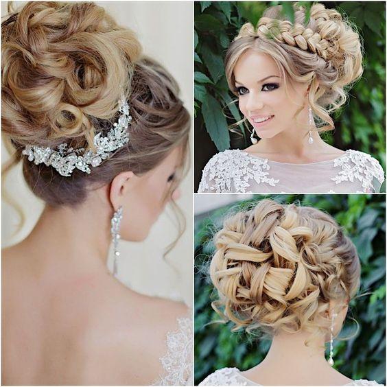 Glamorous Wedding Hairstyles with Elegance Updo ...