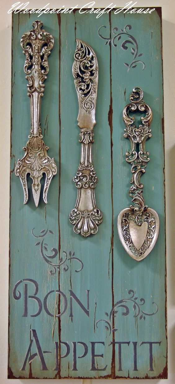 French Country Kitchen Decor Diy And Crafts And Stencils