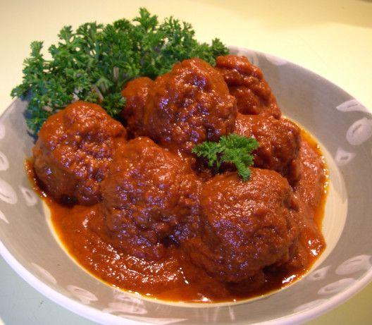 Berthas Meatballs