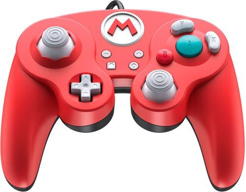Pdp Wired Fight Pad Pro Controller Mario Edition For Nintendo Switch Red 500 100 Na D1 Best Buy Switch Video Nintendo Switch Super Smash Bros