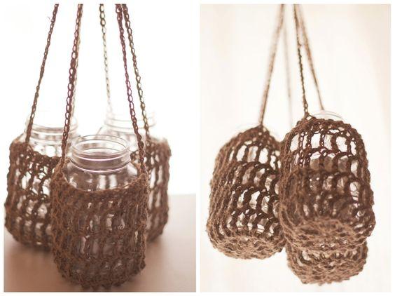 Rustic hangers for wedding decor