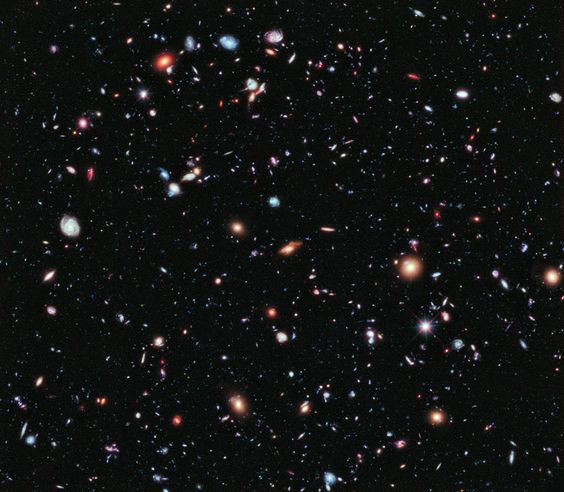 The Hubble Extreme Deep Field. What did the first galaxies look like? To help answer this question, the Hubble Space Telescope has just finished taking the eXtreme Deep Field (XDF), the deepest image of the universe ever taken in visible light. Pictured above, the XDF shows a sampling of some of the oldest galaxies ever seen, galaxies that formed just after the dark ages, 13 billion years ago, when the universe was only a few percent of its present age.