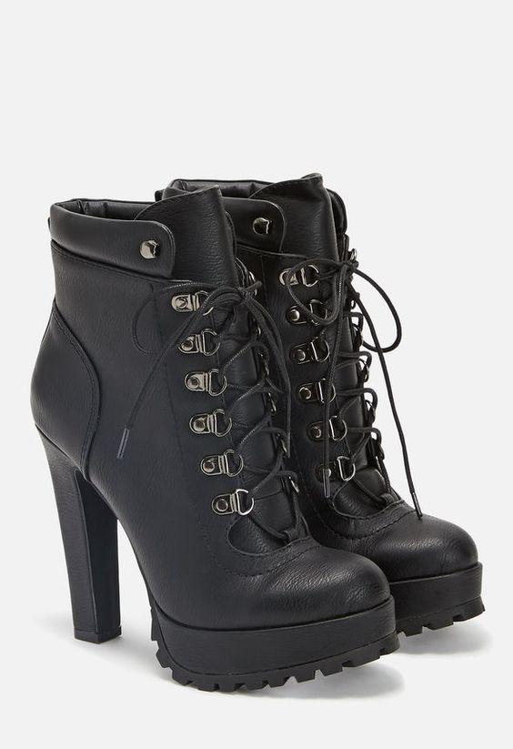 Linanyi Schuhe in Schwarz - günstig kaufen bei JustFab