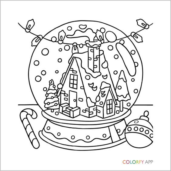 Omeletozeu Christmas Coloring Pages Coloring Books Mandala Coloring Pages