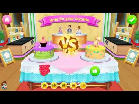Cake Cooking Kids Game My Bakery Empire Learn Colors Bake