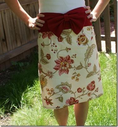 DIY Clothes DIY Refashion DIY The Napkin Skirt