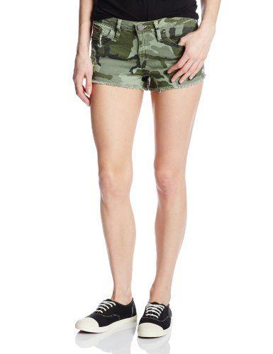 BESTSELLER! YMI Women's 2 1/2 Camouflage Jean Short $26.70