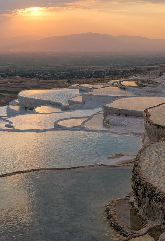 Pamukkale, Turkey- HarpersBAZAAR.com