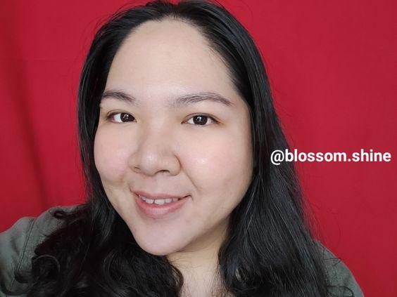 Face After using serum wajah Scarlett Whitening