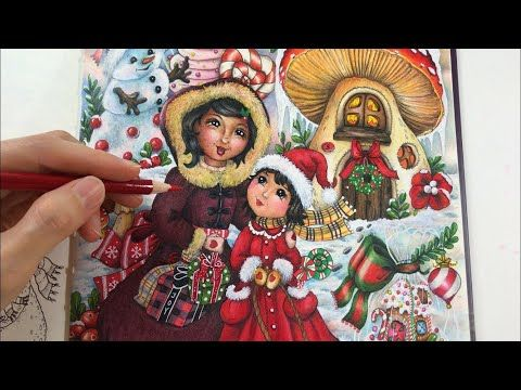 Fairy Touch Of Magic The Magical Christmas Coloring Youtube In 2020 Christmas Colors Magical Christmas Fairy Book
