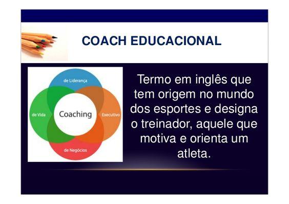 Apresentação realizada durante a semana de planejamento escolar (Jan.2012) para introduzir o conceito de coach aos professores e comunicar-lhes a aplicação des…