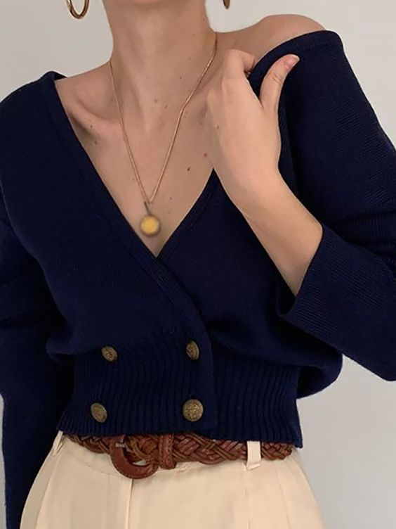 45 Top Blouse Cardigan To Update You Wardrobe outfit fashion casualoutfit fashiontrends