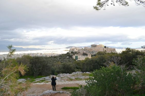 Philopappou Hill in Athens