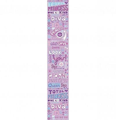 Фото №1: Панно для детской с надписями ACE 67185355 Princess – Ампир Декор