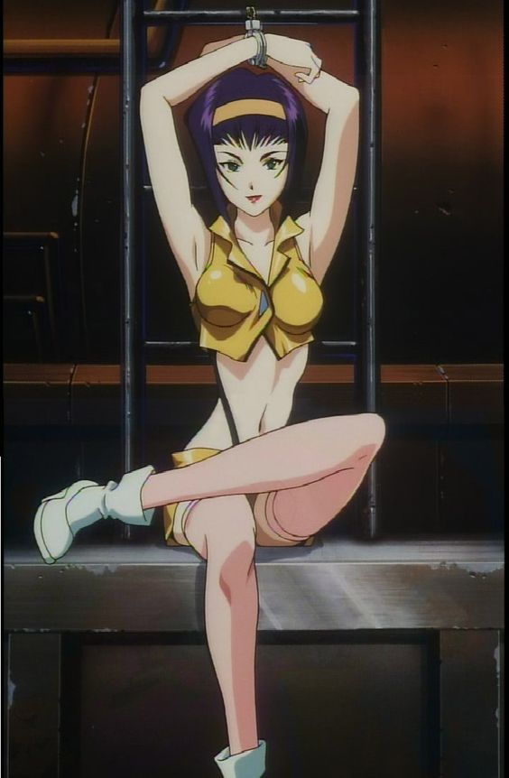 Cowboy Bebop - Faye Valentine  This would be a tricky one because of the boobs. Making a pair of fakes to fit this character will be a challenge but I truly want to do this someday.
