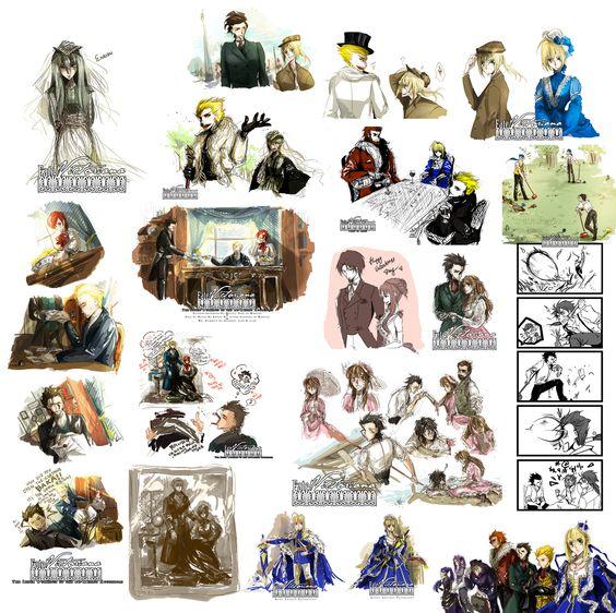 Fate/Victoriana by RococoRoses