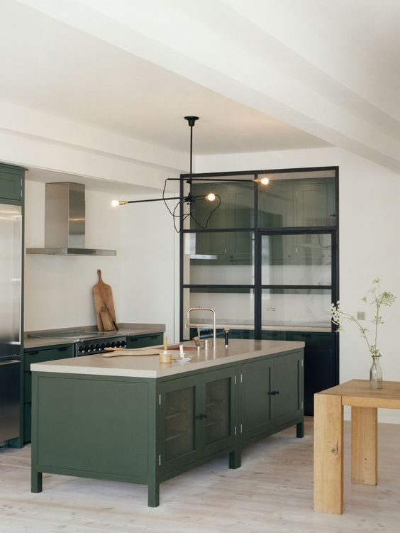 Green Cabinet Kitchens Lexi Westergard Design Blog In The Kitchen Pinterest Green