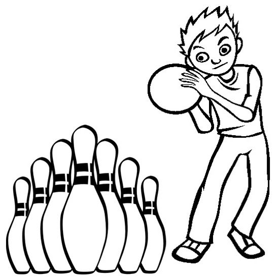 Pin By Pengadaan Indonesia On Simple Bowling Coloring Pages Sports Coloring Pages Coloring Pages Cartoon Coloring Pages