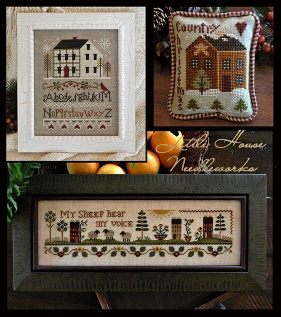 """Little House Needleworks: September Releases!    I love """"My Sheep"""""""