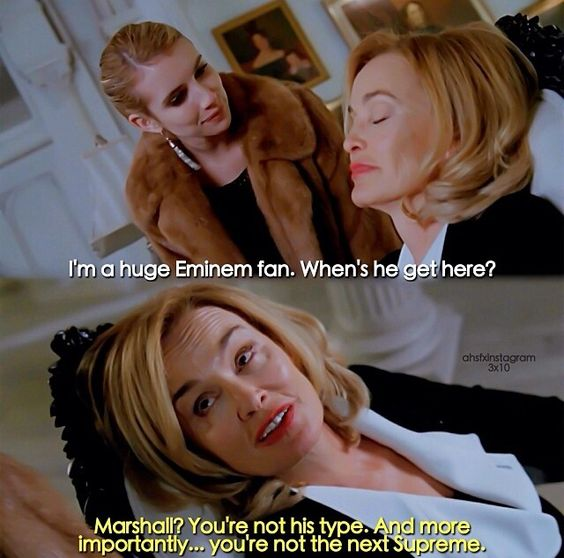 This scene was the best Lmao I was like AN EMINEM REFERENCE !!!
