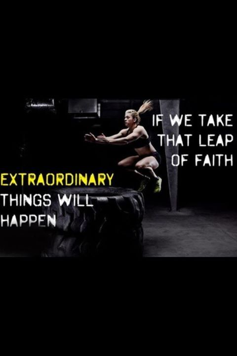 Take That Leap Of Faith Quotes Quote Girl Faith Fit Fitness Workout Motivation Exercise Motivate Wo Fitness Motivation Quotes Fitness Motivation Fitness Quotes