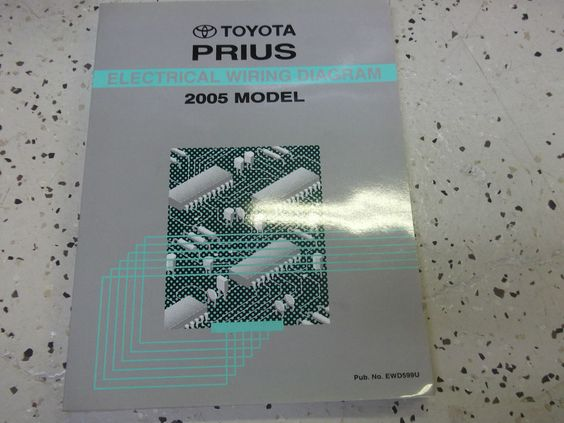 2005 toyota prius electrical wiring diagram service shop repair, wire diagram, electrical wiring diagram toyota prius