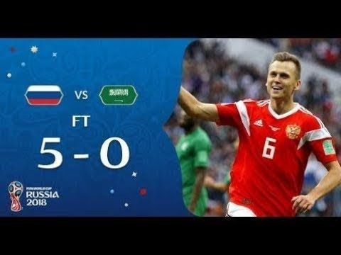 Half Time Score Of Russia Vs Saudi Arabia Match Fifa World Cup 2018 Fifa World Cup Fifa World Cup