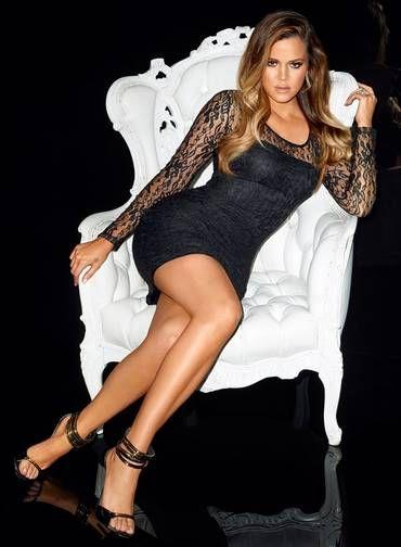 Khloé Kardashian exibe suas curvas numa campanha publicitária Foto: Divulgação / Terry Richardson
