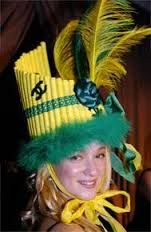 Flûte de pan pour ce chapeau: