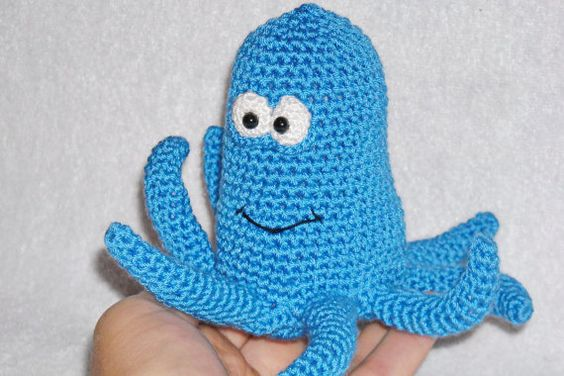 Octopus crochet Kawaii octopus octopus stuffed by innakozachuk