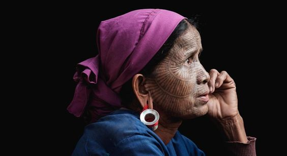 Dylan Goldby photographs the tattooed women of Myanmars Lai Tu Chin in his book Hmae Sun Nae Ti Cengkh Nu.