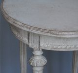 Pair of Gustavian Style Occasional Tables thumbnail 3