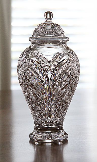 Waterford Designer Studio Blackfriars Lidded Urn by Billy Briggs. LO