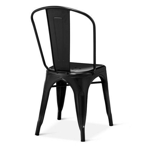 Carlisle High Back Dining Chair Threshold Metal Dining Chairs Dining Chairs High Back Dining Chairs