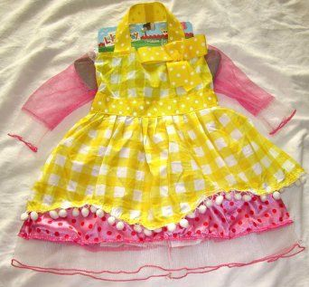 Amazon.com: Lalaloopsy Crumbs Sugar Cookie Dress Up Costume Children: Clothing
