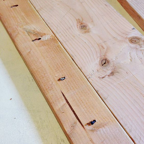 DIY Wood Plank Countertops Manhattan Nest Kitchens Pinterest We Wood