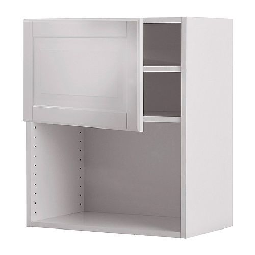 Wardrobe pax white shelves ovens and the o 39 jays for Microwave carts ikea