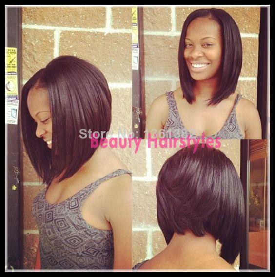 Enjoyable U Part Wig Haircut Bob And U Part On Pinterest Short Hairstyles Gunalazisus